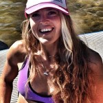 Jodelle Fitzwater sup yoga instructor