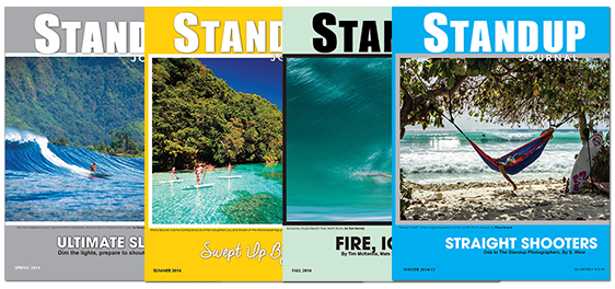 carry standup journal in your sup / surf shop