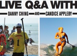 questions and answers with Danny Ching and Candice Appleby