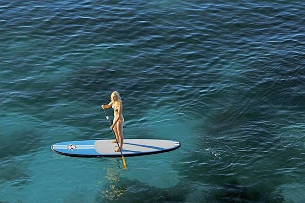 The Woman of Standup Paddling 11