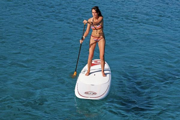 The Woman of Standup Paddling 12