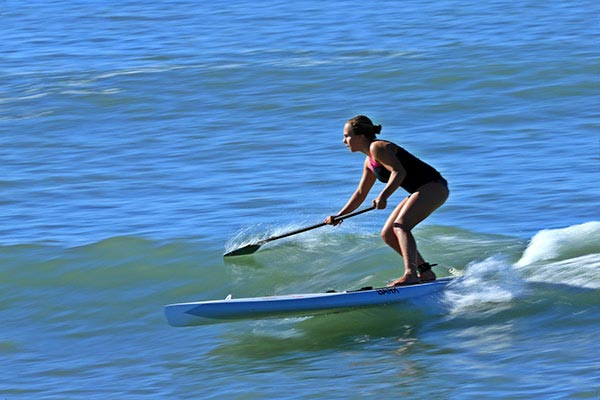 The Woman of Standup Paddling 15