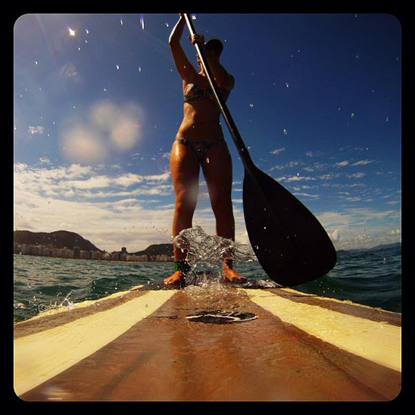 The Woman of Standup Paddling 24