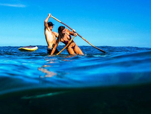 The Woman of Standup Paddling 26