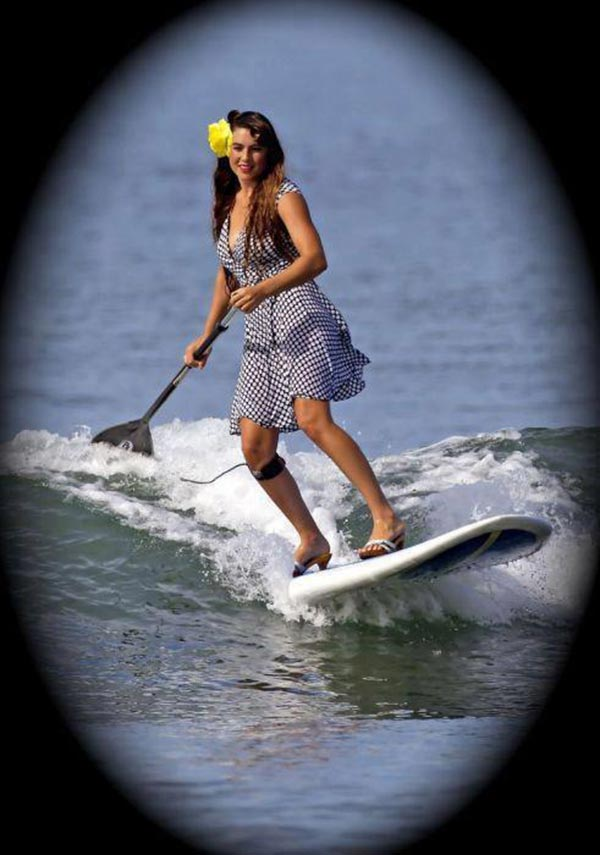 The Woman of Standup Paddling 3