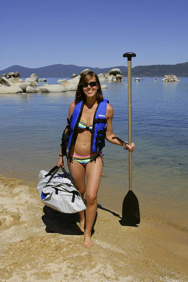 The Woman of Standup Paddling 32