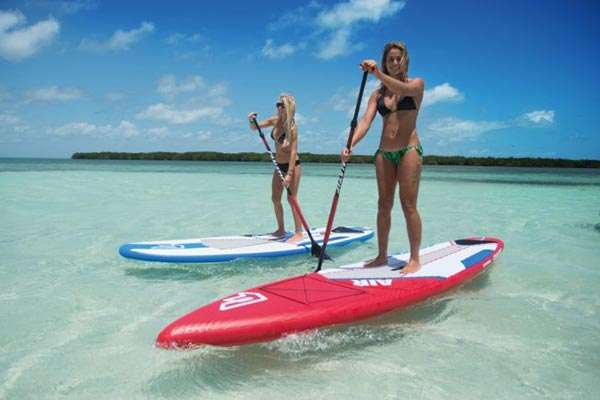 The Woman of Standup Paddling 40