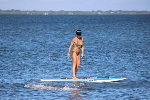 The Woman of Standup Paddling 42