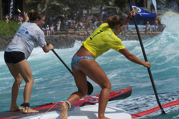 The Woman of Standup Paddling 44