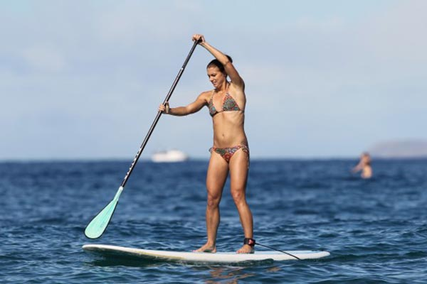 The Woman of Standup Paddling 47