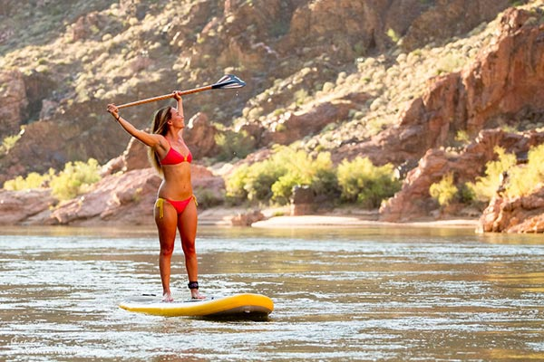 The Woman of Standup Paddling 49