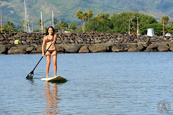 The Woman of Standup Paddling 5