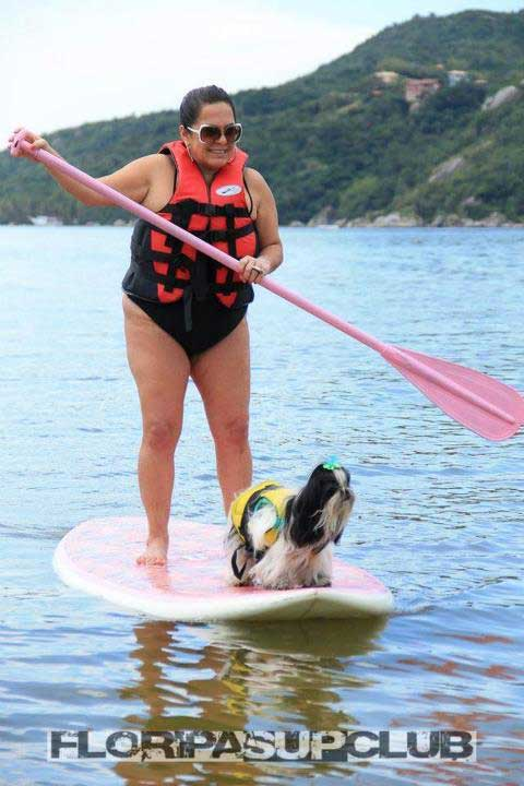 pink-paddleboard-with-a-puppy