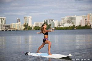 sup yoga sun salutation move 10