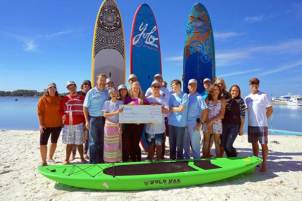 Yolo Board supports special olympics
