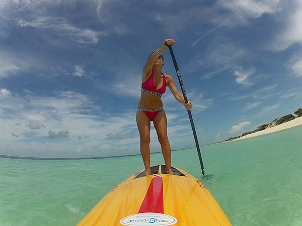 stand up paddleboarding in British Virgin Islands