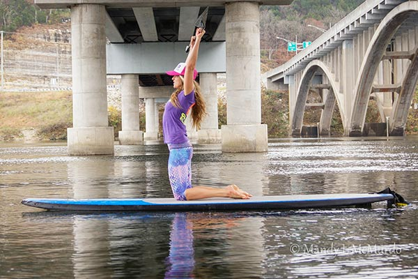 SUP-er Simple Kneeling Core Exercise 3