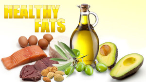 healthy fats diagram