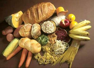 high-carbohydrate-food-plate