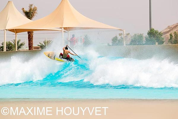 Abu Dhabi All Stars Grand Slam to feature Surfing in the pool and Racing at Yas Marina