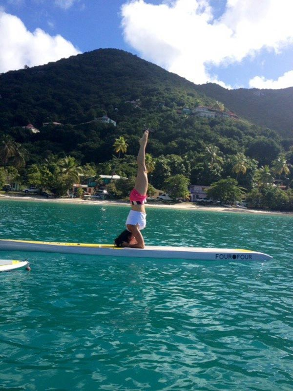 Sup Yoga Headstand