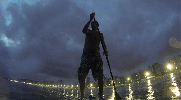 city lights sup session