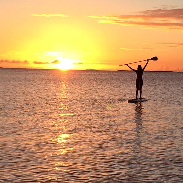 horay for sup sunsets