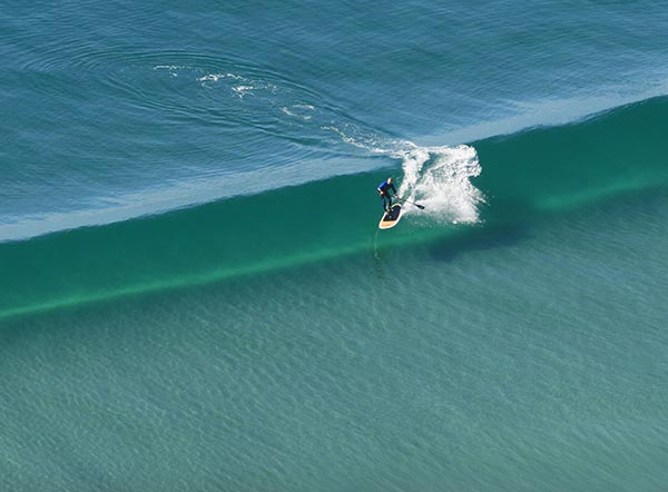 the glassiest sup wave ever
