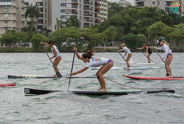 women sup race