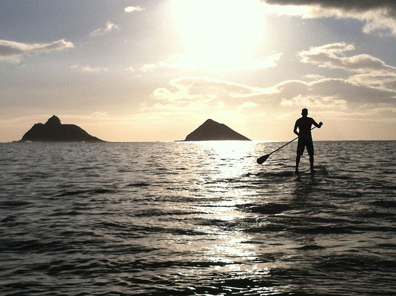 Closing in by: David Cordell Closing in ….. I was paddling a one man behind this guy and the backdrop was great with the light I snapped a couple of shots on my I phone