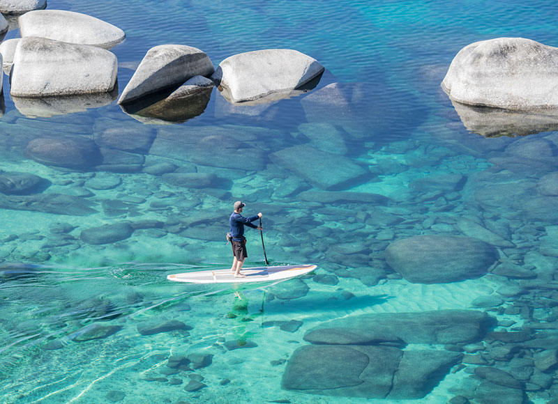 by: Martin Gollery Lake Tahoe Winter Paddle