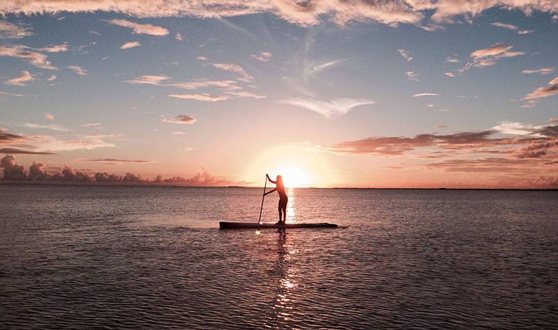 SUP Sunset Angel Salinas, Puerto Rico By: Melisa Rivera