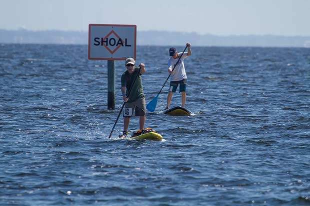 Jeff Shell: A little father son bonding time at the five flags paddle board classic; Hosted by coastal paddle company