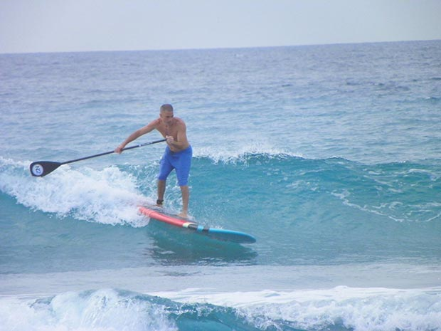 Brian Bartlett Delray Beach, North 2, Salt Fly SUP
