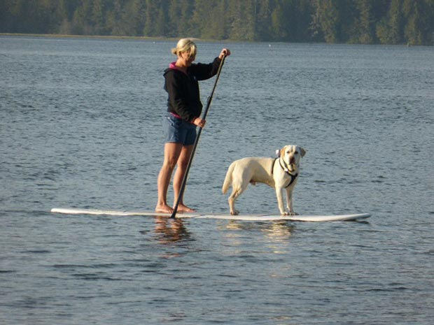 Heather MacLeod: SUP with Scout