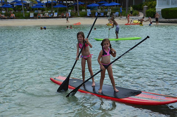 Lisa Wessendorf: Never too young to SUP