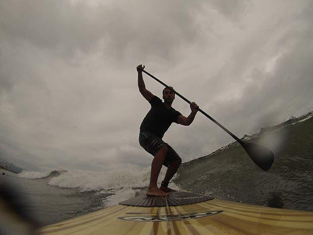 Marcelo Ros: SUP Wave - Bertioga - SP - Brazil