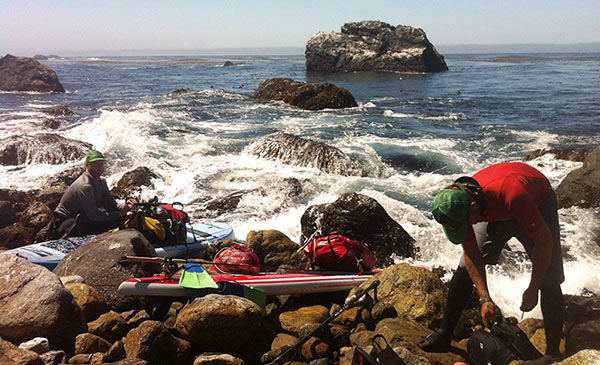 big sur crazy sup trip