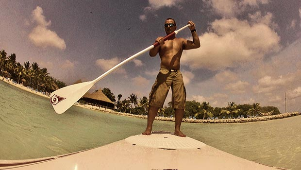 serge abittan Another paddling day in Aruba , by Serge Abittan