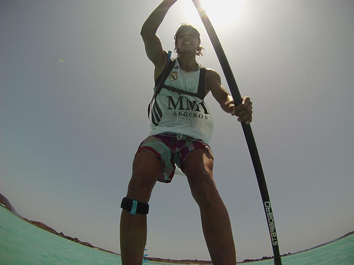 Iballa Moreno STAND UP PADDLE . No pain No gain