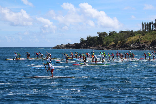 Connor Baxter Wins  The Maui-2-Molokai Championships 2