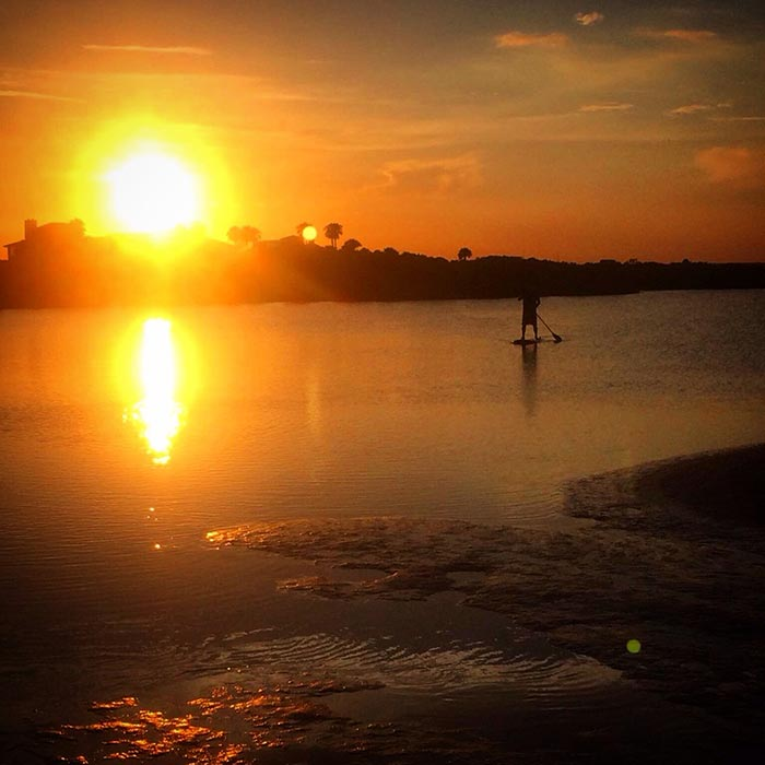 Glen Howard: Paddling into the sunset in Americas Oldest City, St Augustine Florida