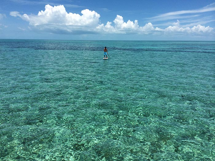 Jessica Keaton: It is a great big world out there! Ken Keaton in the Abacos. Miles of paradise!