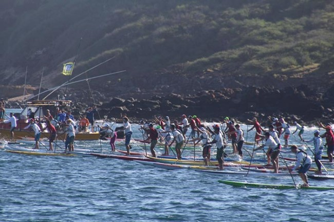MOLOKAI-2-OAHU start of race