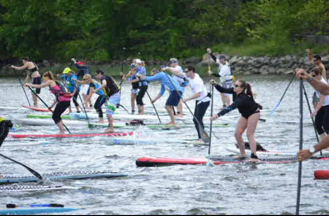 Taylor Berlin: This is from my first SUP Race of the season. It was a three mile race and I was nervous about such a long distance so early in the year. I ended up getting first place for women's junior division! It was such an incredible feeling to know what I can achieve with my board and a little hard work.