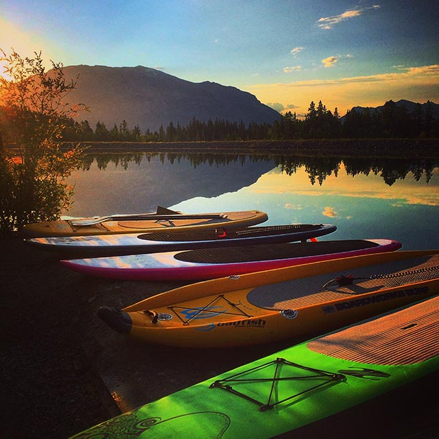 Chad Guenter : First light. First to paddle