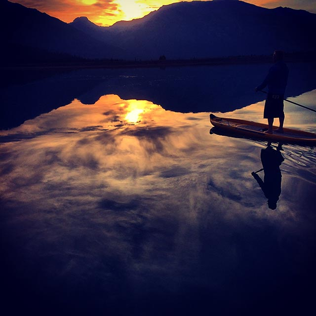 Chad Guenter: Rise n sup (sunrise paddle)