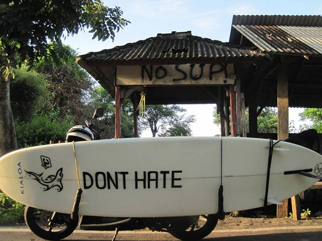 Dave Schleifer: (DONT HATE )BALI INDONESIA 2014