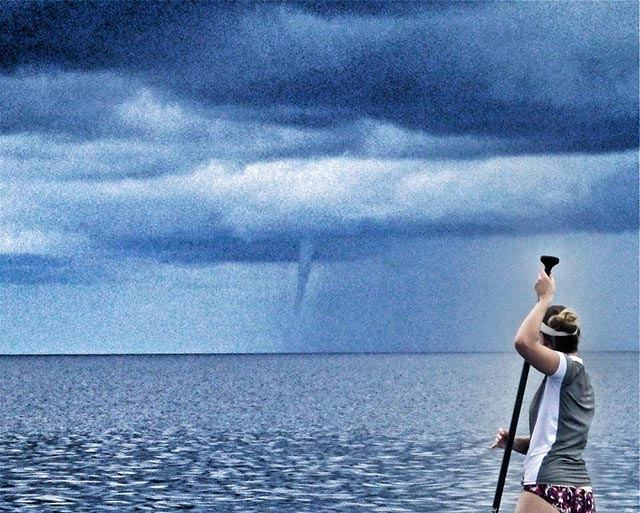 Edwin Gomez: Chasing waterspouts in The Cayman Islands