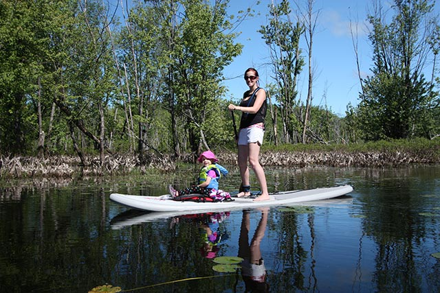 Jean-Guy Leger 1: Family time with Friends of Aerosport on lake of Two Mountains, Oka Quebec